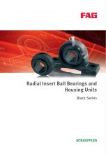 BLACK SERIES - RADIAL INSERT BALL BEARINGS AND HOUSING UNITS