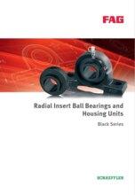 BLACK SERIES - RADIAL INSERT BALL BEARINGS AND HOUSING UNITS