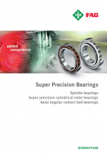 INA FAG - SUPER PRECISION BEARINGS