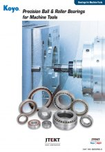 KOYO PRECISION BALL & ROLLER BEARINGS FOR MACHINE TOOLS