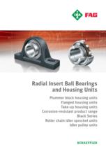 INA FAG - RADIAL INSERT BALL BEARINGS AN HOUSING UNITS