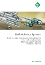 INA - SHAFT GUIDANCE SYSTEMS