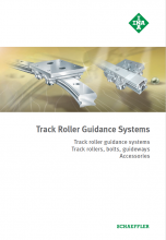 INA - TRACK ROLLER GUIDANCE SYSTEMS